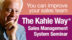 The Kahle Way Sales Management System Seminar