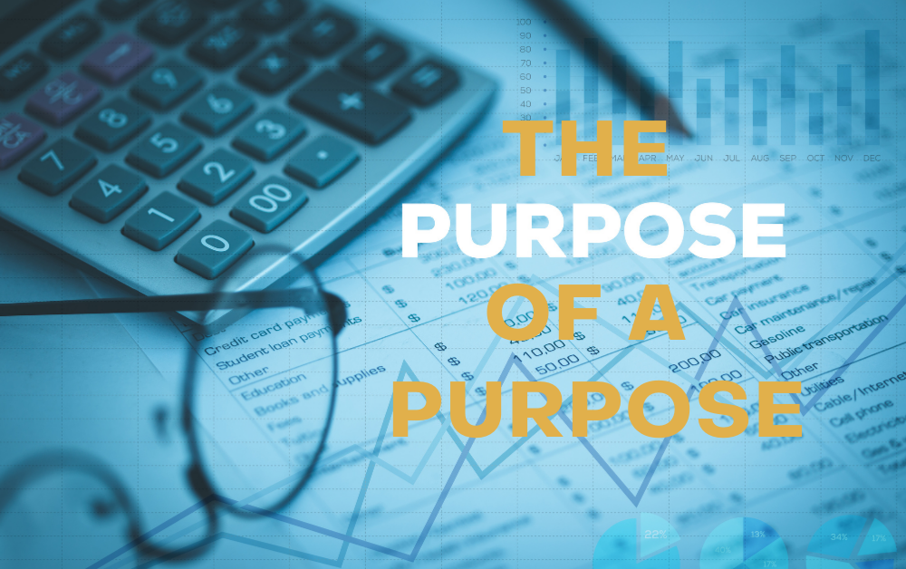The Purpose of a Purpose