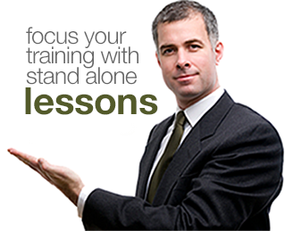 focus sales with stand alone lessons