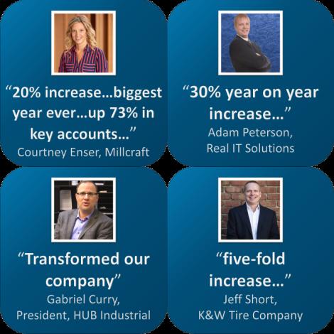 Sales Training Testimonials