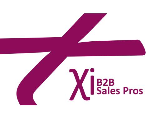 B2B sales pros